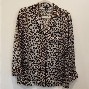 Club Monaco Silk Shirt 🐆🐆